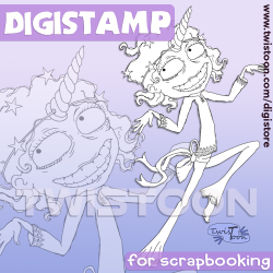 To Be A Unicorn Digital Stamp