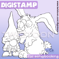 Not A Carrot Digi Stamp