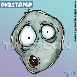 Uh Face Digistamp preview