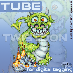 Tube for Tagging Dragon
